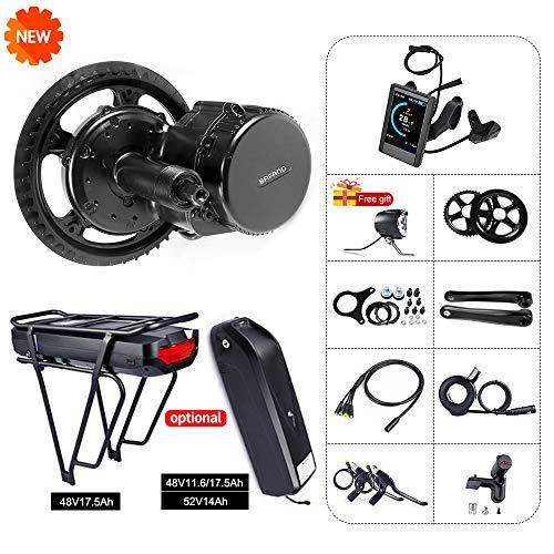 BAFANG 8fun Mid Drive Crank Motor 48v 750w 25A BBS02 Electric Bike Conversion Kit (48T, 850C)