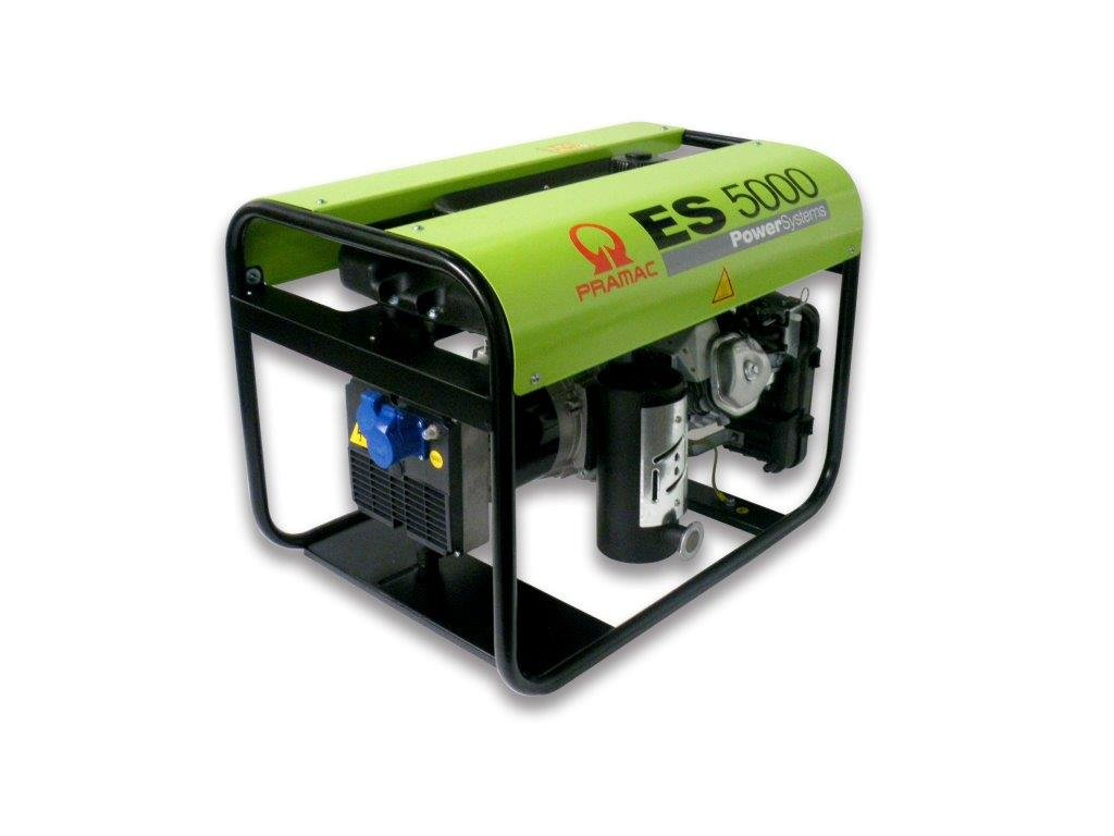 ES5000-SHI 230 V (4,20 kVA) Honda GX270 /// Service - Gutschein inclusiv …