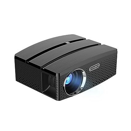 TY-NATN Proyector Proyector, Proyectores De Video, Portátil GP80UP ...