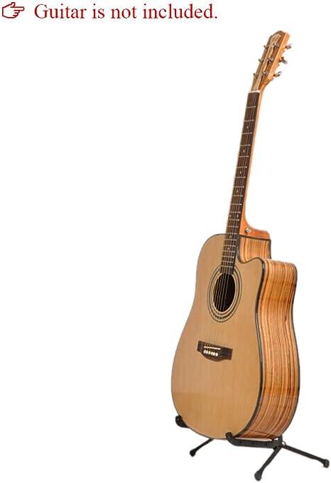 Ammoon Compact foldding A-Shape Marco Soporte De Guitarra para ...