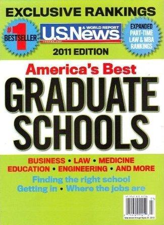 U S  News 2011 Americas Best Graduate Schools