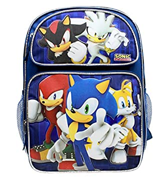 ba87511a1e18e Sonic the Hedgehog Large 16 Inches Backpack #SH28752