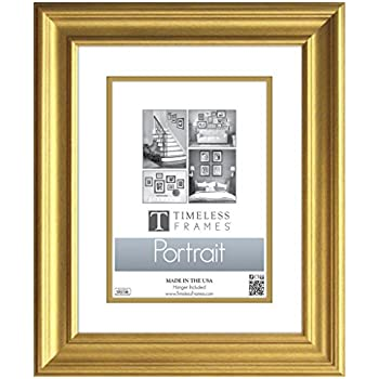timeless expressions lauren portrait wall frame 8 x 10 gold