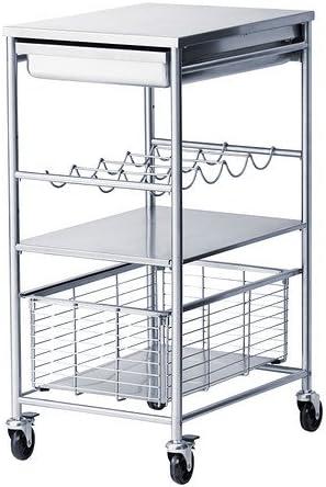 Ikea Grundtal Etagere De Cuisine Inox 54 X 41 X 90 Cm Amazon Fr