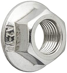 uxcell a16033100ux0384 Flange Nut M10x1m...