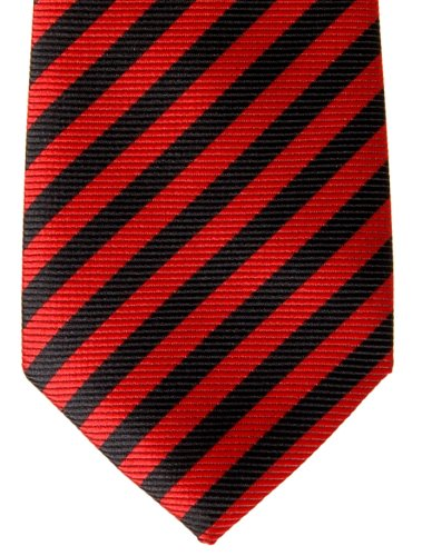 Tie Woven Boy's Stripe Colors Various Red Retreez Striped tied Black Pre and wPqX5xI