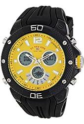 U.S. Polo Assn. Sport Men's US9494 Analog-Digital Display Analog Quartz Black Watch