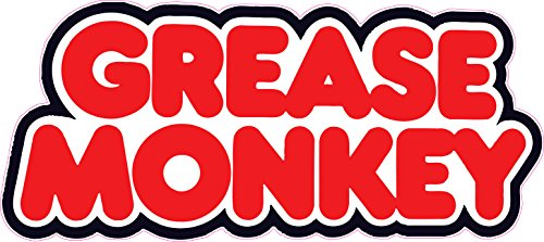 grease monkey decal - 3