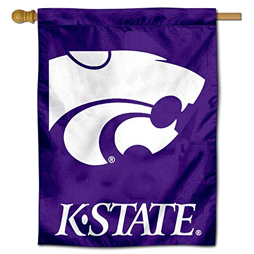 College Flags and Banners Co. Kansas State University Wildcats House ()