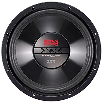 BOSS Audio Systems CX8 Car Subwoofer - 400 Watts Maximum Power, 8 Inch, Single 4 Ohm Voice Coil, Sold Individually: Car Electronics