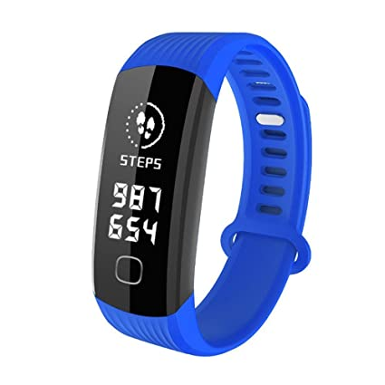WEARFIT R8 Fitness Tracker : Sport Activity Tracker Smart Band with Heart  Rate Monitor Sleep Monitor, Smart Bracelet Pedometer Wristband for iOS &