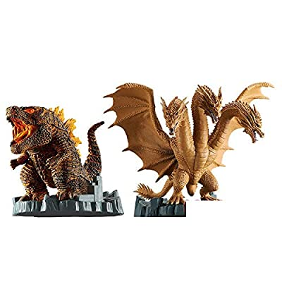 JPT Godzilla&King Ghidorah Set 2020 Deformation King Godzilla: Toys & Games