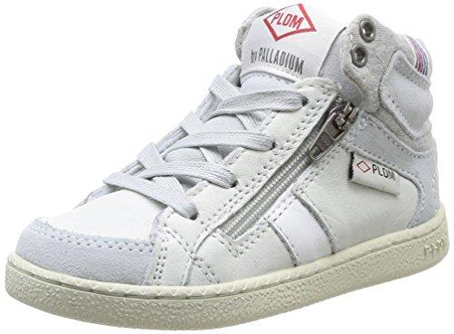 PLDM by Palladium Macadam Cash, Unisex - Kinder Sneaker Weiß - Blanc (Off White)