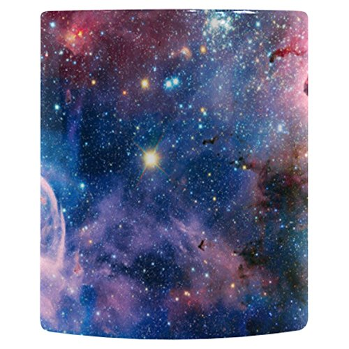 (InterestPrint Galaxy Space Carina Nebula Heat Sensitive Color Changing Coffee Mug, Romantic Universe Morphing Travel Mug Tea Cup Funny, 11 Ounce Mug )
