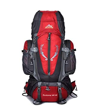 JSSFQK Multifunctional Large Capacity Backpack Professional Rucksack Travel Bag Outdoor Climbing Backpack Outdoor Backpack Luggage & Bags Color : C