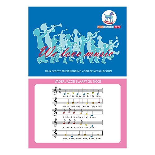 New Classic Toys Songbook for Metallophones 10-Songs on 16-Pages 2042856