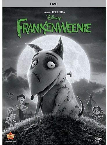 Disney Channel Halloween Movie Times (Frankenweenie)