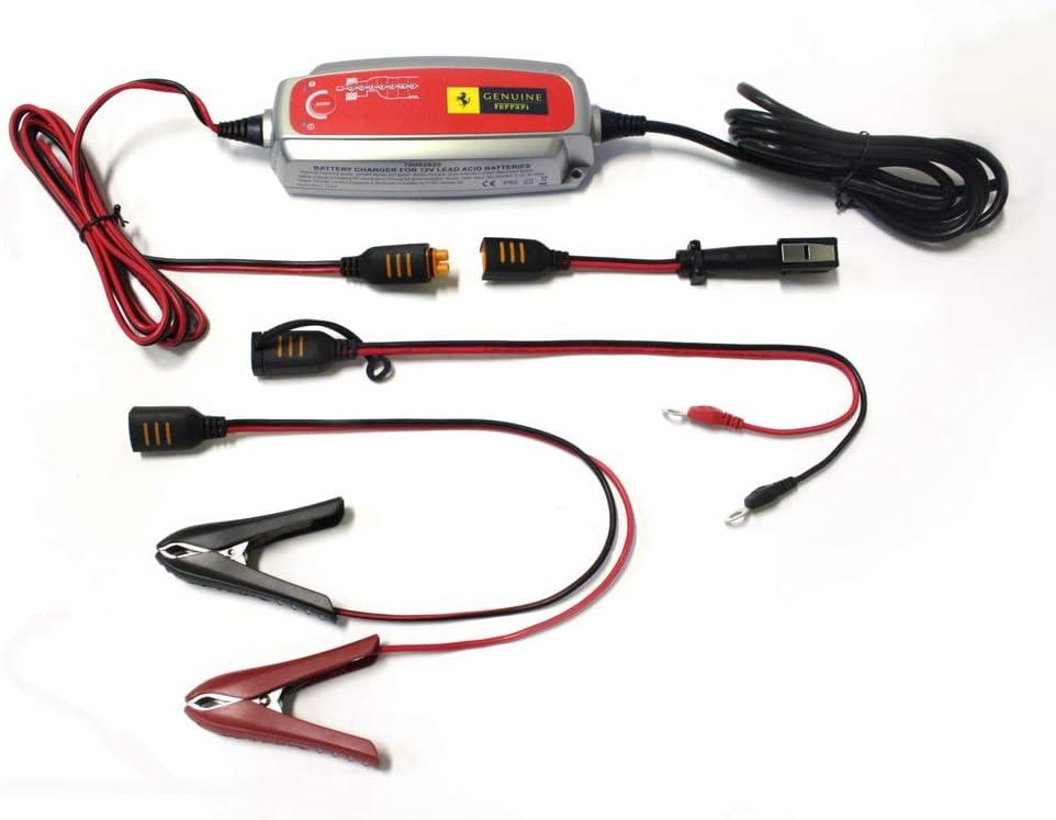 Amazon Com Genuine Ferrari Battery Charger Kit Oem Car Electronics