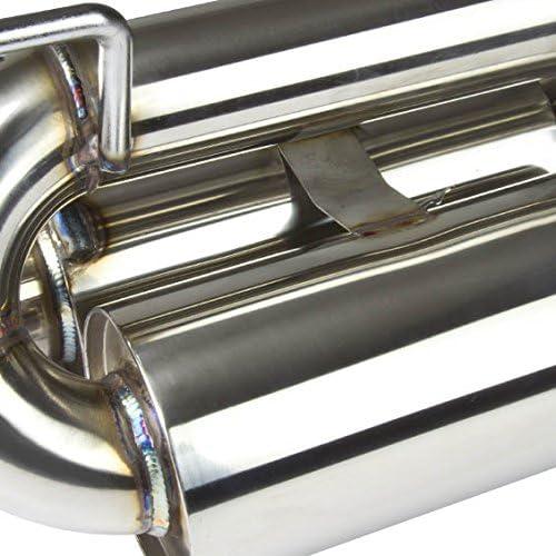 DNA Motoring J2 Engineering J2-CBE-030 Catback Exhaust System