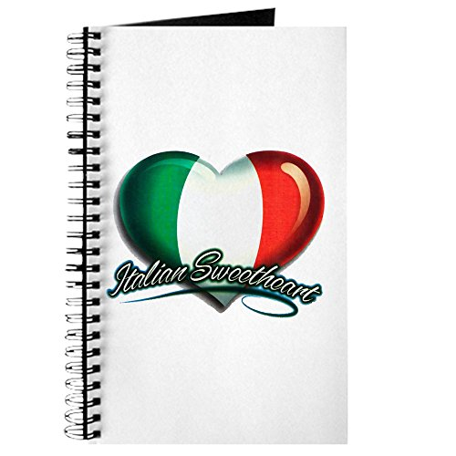 (Journal (Diary) with Italian Sweetheart Italy Flag on)