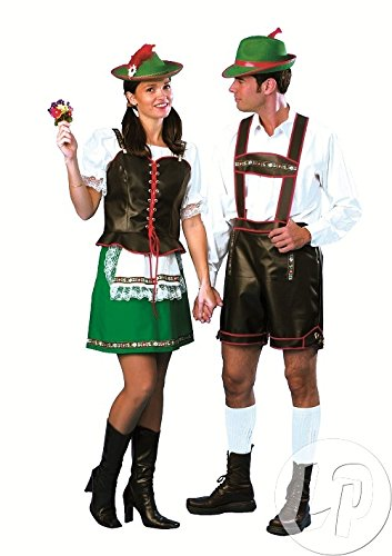 Female Yodeler Costumes - Bavarian Yodeler Adult