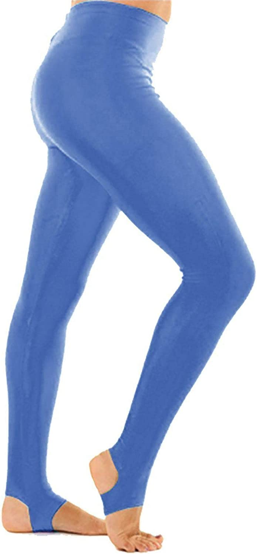 Rimi Hanger Girls Children Kids Stirrup Leggings Dance Gymnastics Shiny Nylon Lycra Pants 3-4 Years
