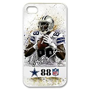 Custom Dallas Cowboys Dez Bryant Back Cover Case for iPhone 4 4S IP-1392