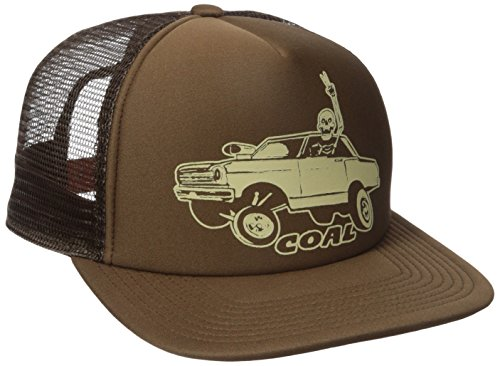 Coal Men's The Burnout Hot Rod Cap, Brown, One Size ()