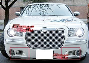 APS 2005 - 2010 Chrysler 300C parachoques rejilla de acero inoxidable # S18-S90357R: Amazon.es: Coche y moto