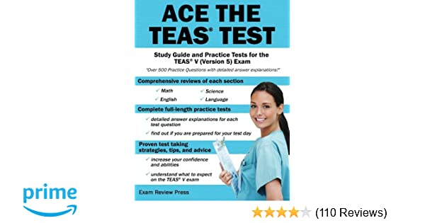 ace the teas test study guide and practice tests for the teas v rh amazon com Ops Review Manual Review Clip Art