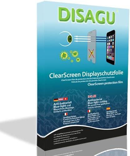 DISAGU ClearScreen - Protector de Pantalla (Protector de Pantalla, Garmin, eTrex Summit HC, Resistente a rayones, Transparente, 4 Pieza(s))