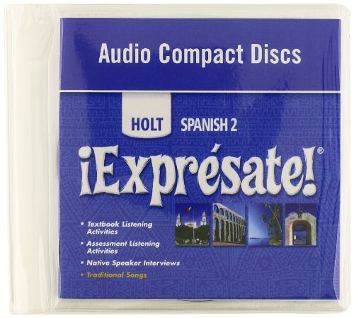 ¡Exprésate!: Audio CD Level 2 by HOLT, RINEHART AND WINSTON