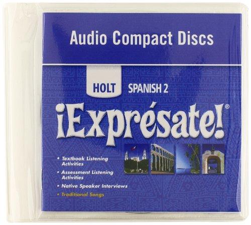 ¡Exprésate!: Audio CD Level 2