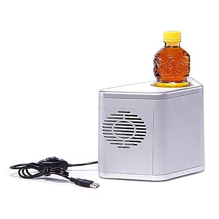 Mini refrigerador de coque Refrigerador caliente y frío Coche ...