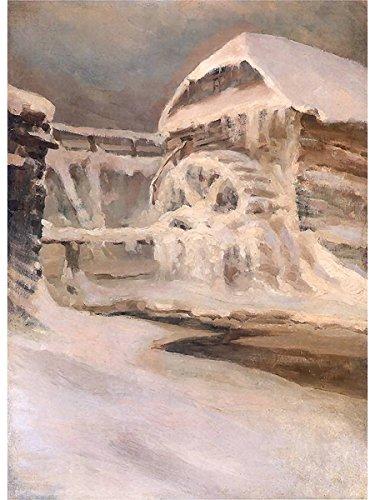 MÅ'yn zimÄ… by Ferdynand - Frame Zima