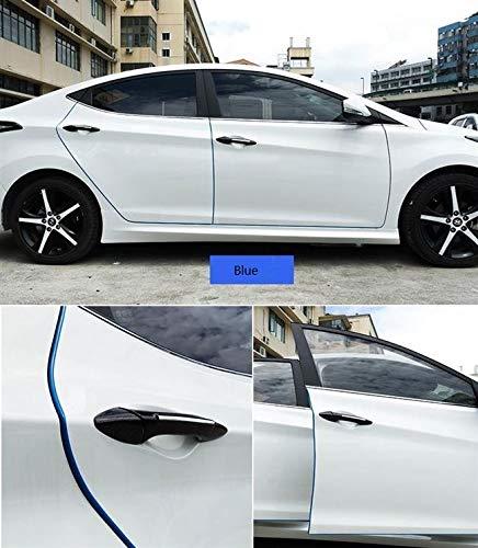 Auto-Kantenschutz 10m von STYLINGCAR Autot/ür-Kantenschutz Wei/ß aus Kautschuk 10M, Wei/ß