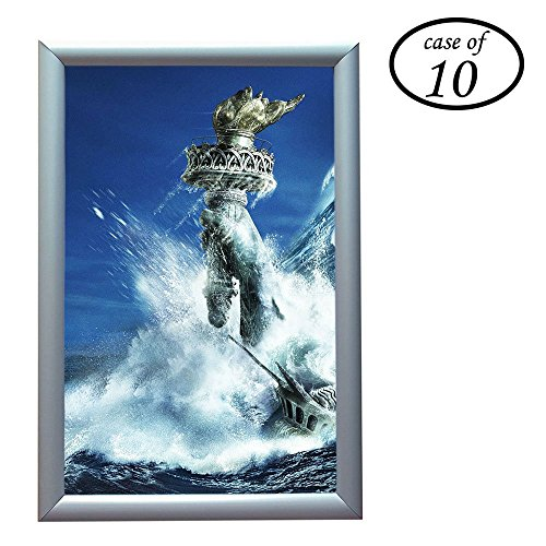 Aluminum Snap Frame for Poster 11 x 17 inches, 25mm Profile, Color Silver,10 (Gallery Aluminum Frame)