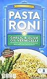 pasta roni vermicelli - Pasta Roni, Garlic & Olive Oil Vermicelli Mix, 4.6oz Box (Pack of 6)
