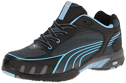 Women's Puma Safety Fuse Motion SD Low Steel Toe Shoes, BLUE, 9.5D by PUMA