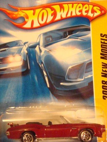 Mattel Hot Wheels '70 Pontiac GTO Convertible #29 Collector 2008 1/64