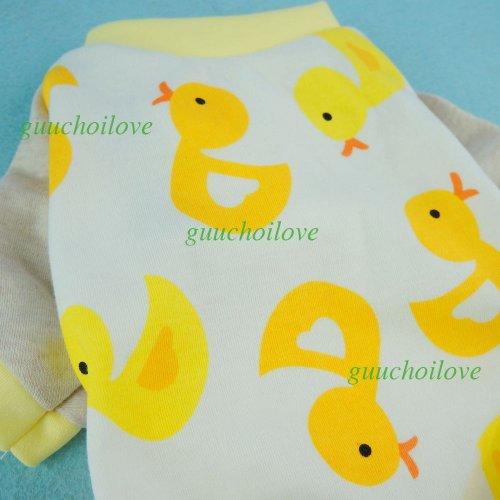 Fitwarm-Cute-Duck-Dog-Pajamas-Dog-Clothes-Dog-Jumpsuit-Pet-Cat-Pjs