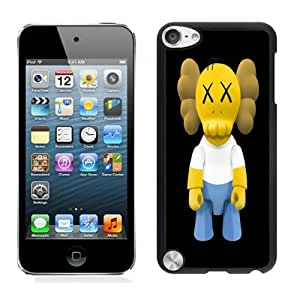 Beautiful DIY Designed With Kaws iPhone x Homer Simpson Cover Case For iPod Touch 5th Black Phone Case CR-334