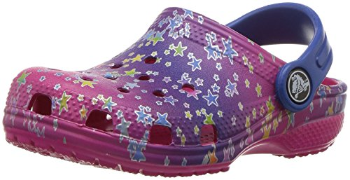 Crocs Kids' Classic Graphic K Clog,Multi Stars,12 M US Little Kid by Crocs