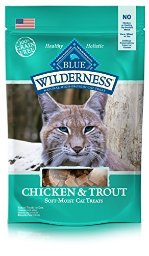 Blue Wilderness Chicken and Trout Cat Treats - 2 oz. by BLUE Wilderness (Blue Cat Treats)