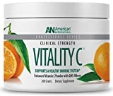 American Nutriceuticals Vitality C – 200 grams | Ultra High-Potency Vitamin C Powder Without Gastric Distress| Enhanced Absorption, Neutral pH with GMS-Ribose Complex Review