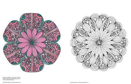 Creative Coloring Mandalas Art Activity Pages To Relax And Enjoy ...