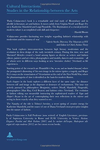 Natasha's Dress: Language of Literature, Language of Fashion (Cultural Interactions: Studies in the Relationship between the Arts) by Peter Lang AG, Internationaler Verlag der Wissenschaften