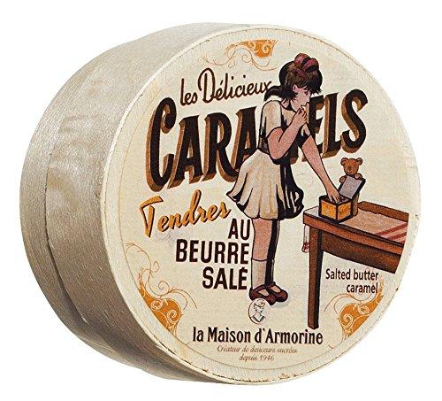 La Maison d'Armorine Caramels au beurre salé / Karamellbonbons mit gesalzener Butter 50 gr.
