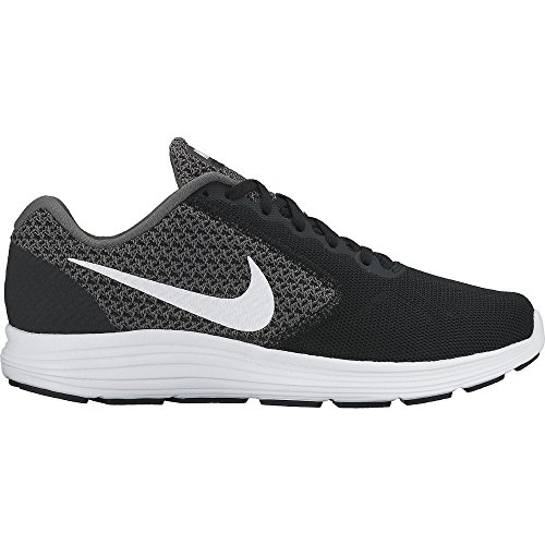 black NikeNike Laufschuhe Damen Revolution White Grey Scarpe Donna 3 Running Dark CqOTPBq