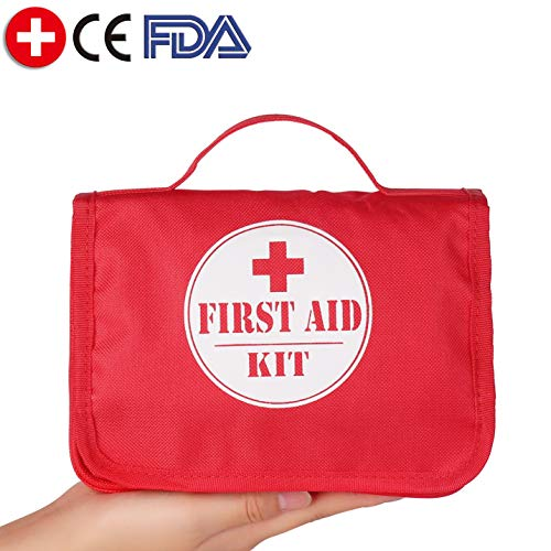 Camping Hiking First Aid Kit Car Emergency Kit Survival Outdoor Home Sports Hunting with Bag